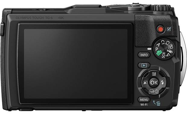 Olympus Tough TG-6 Back