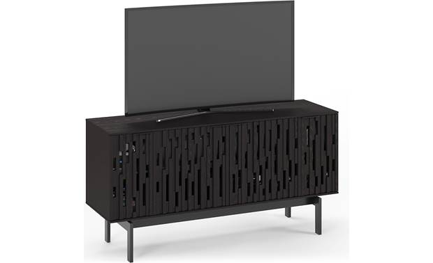 BDI Code 7376 Ebonized Ash - left front (TV not included)
