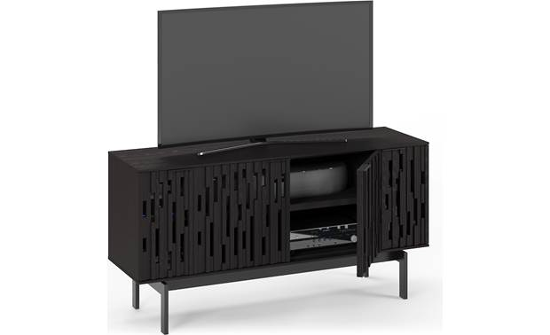 BDI Code 7376 Ebonized Ash -left front (TV and components not included)