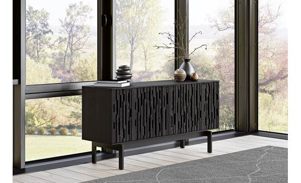 BDI Code 7376 Ebonized Ash- use as a TV stand or credenza