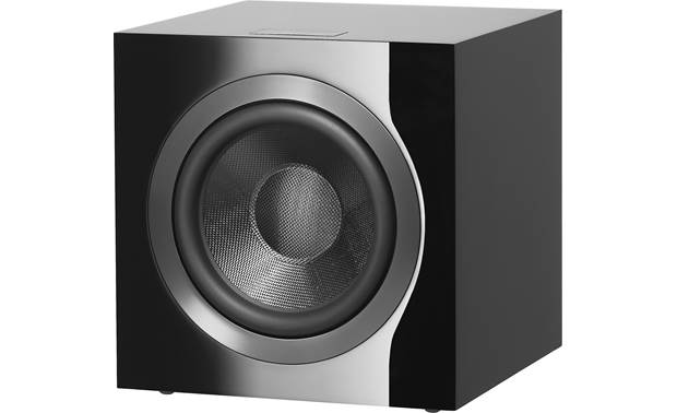 Bowers & Wilkins DB4S Angled front view with grille off