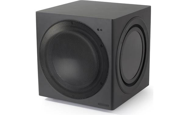 Monitor Audio CW10 Angled view with front grille on