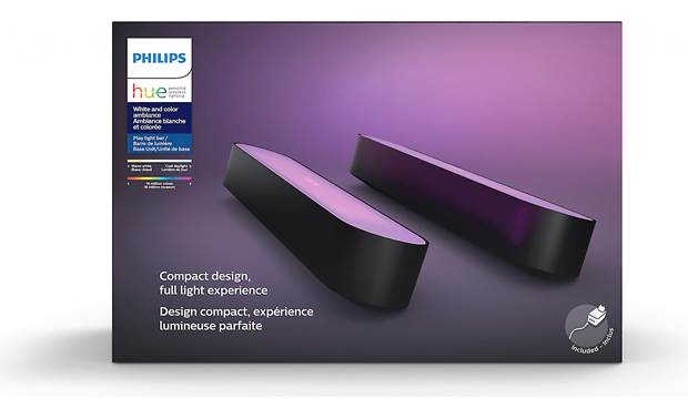 Philips Hue Play White and Color Ambiance Light Bar Kit includes two light bars
