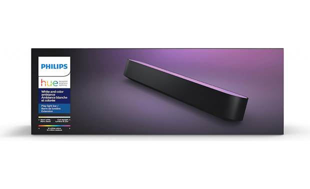 Philips Hue White and Color Ambiance Play Light Bar Extension Add-on light lets you expand your Play setup