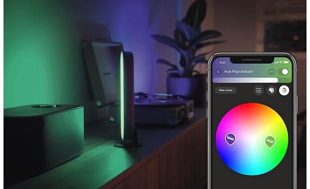 Philips Hue White and Color Ambiance Play Light Bar Extension Choose from 16 million colors