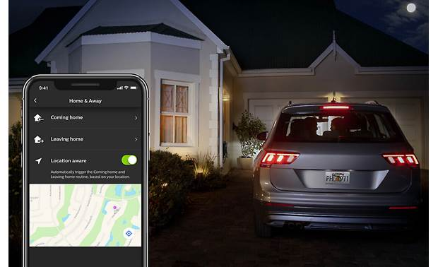 Philips Hue PAR38 Outdoor Have your lights turn on when you arrive home
