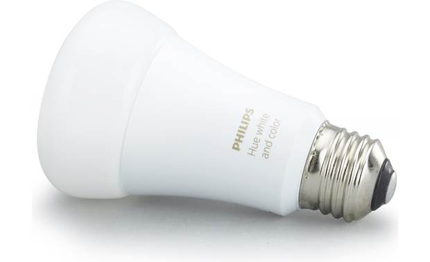 Philips Hue White and Color Ambiance A19/E26 Bulb Rated for approximately 25,000 hours of use