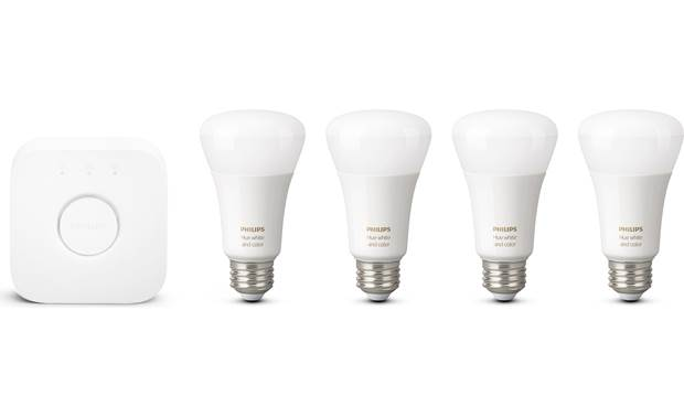 Philips Hue White and Color Ambiance Starter Kit Front