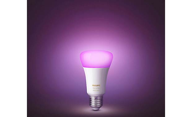 Philips Hue White and Color Ambiance Starter Kit Standard A19/E26 bulbs fit most common light fixtures