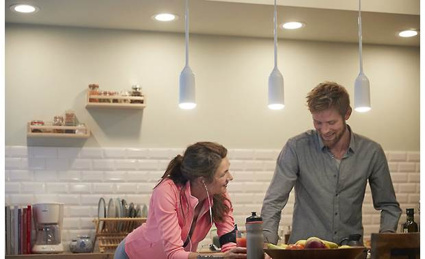 Philips Hue White Ambiance Downlight Outfit your kitchen with smart recessed lighting