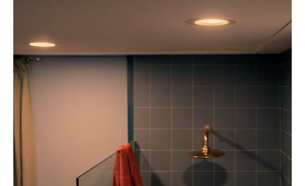 Philips Hue White Ambiance Downlight Suitable for moist locations like a bathroom