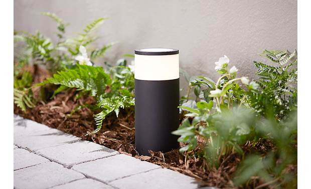 Philips Hue Calla White and Color Ambiance Outdoor Light (Base Unit) Produces pure white light or your choice of colors