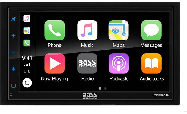 Boss BVCP9685A Add Android Auto and Apple CarPlay for seriously fun smartphone integration