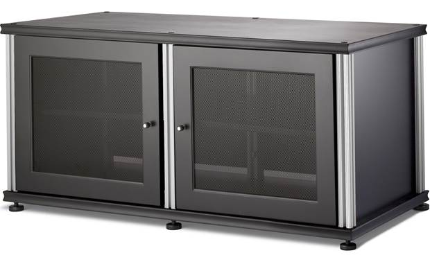 Salamander Designs Synergy Model 221 Black with satin aluminum posts