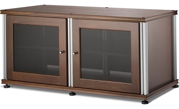 Salamander Designs Synergy Model 221 Walnut with satin aluminum posts