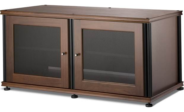 Salamander Designs Synergy Model 221 Walnut with matte black posts