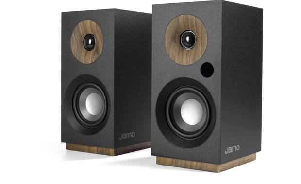 Jamo S 801 PM Attractive compact speakers with built-in amplification and Bluetooth for playing music wirelessly