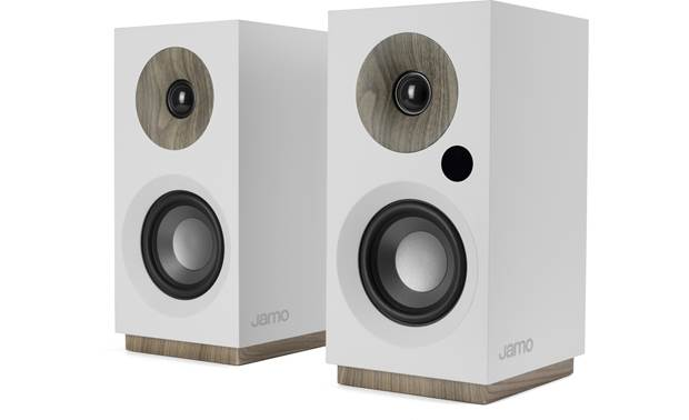 Jamo S 801 PM Compact speakers with built-in amplification and Bluetooth for playing music wirelessly