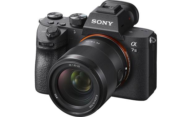 Sony FE 35mm f/1.8 Shown mounted on Sony a7 III (camera not included)