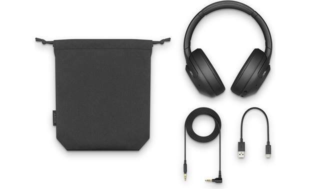Sony WH-XB900N EXTRA BASS™ Included accessories