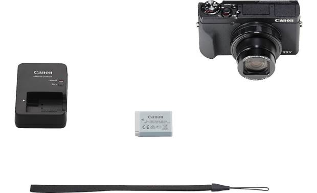 Canon PowerShot G5 X Mark II Shown with included accessories