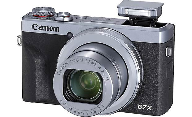Canon PowerShot G7 X Mark III Pop-up flash