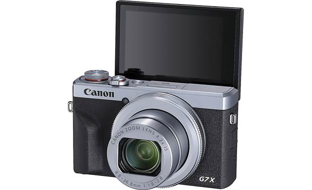 Canon PowerShot G7 X Mark III Screen tilts so you can frame your selfie