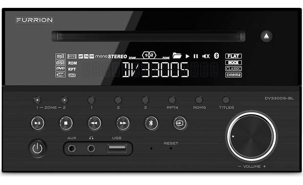 Furrion DV3300S-BL The Furrion DV3300S-BL offers dual-zone outputs.