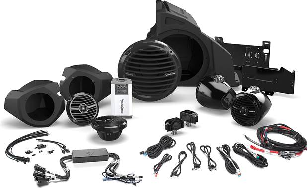 Rockford Fosgate RZR14RC-STAGE4 Front