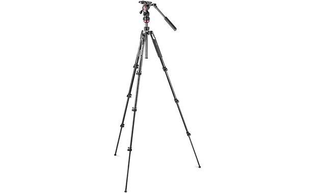 Manfrotto Befree Live Extends to a height of nearly 5 feet