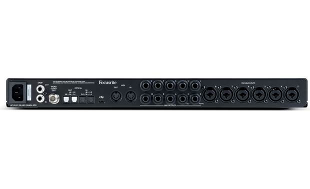 Focusrite Scarlett 18i20 (3rd Generation) Back