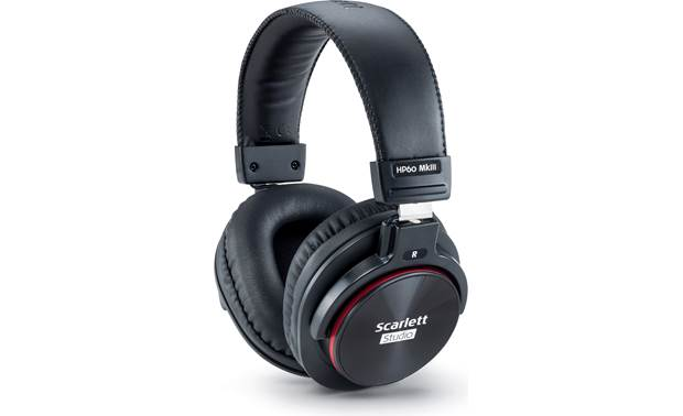 Focusrite Scarlett 2i2 Studio (3rd Generation) Scarlett series HP60 MkIII closed-back headphones