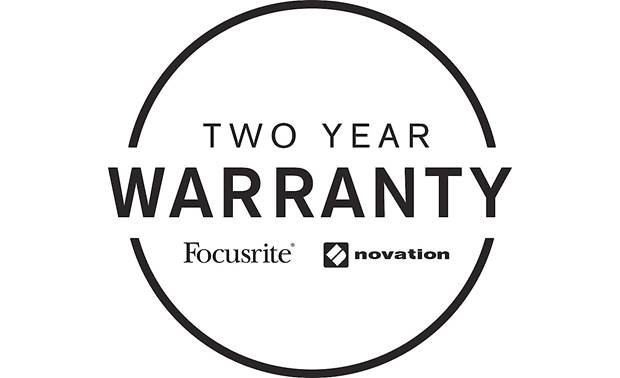 Focusrite Scarlett 4i4 (3rd Generation) Now includes a 2-year warranty