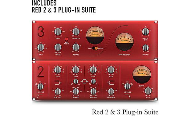 Focusrite Scarlett 4i4 (3rd Generation) Bundled Focusrite plug-in suite
