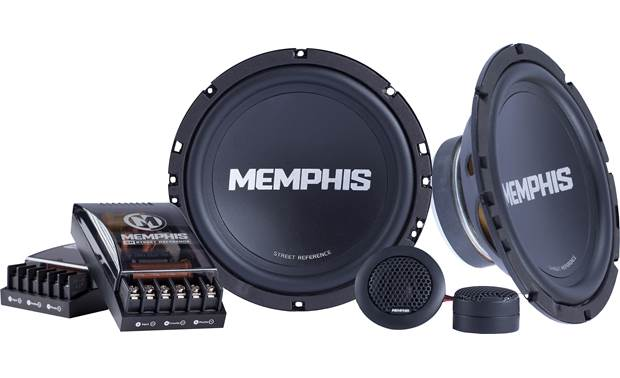 Memphis Audio SRX60C Give your music some oomph with the Street Reference Series components