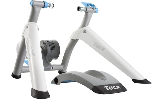 Tacx Flow Tacx Flow provides smart training in a compact, foldable package.
