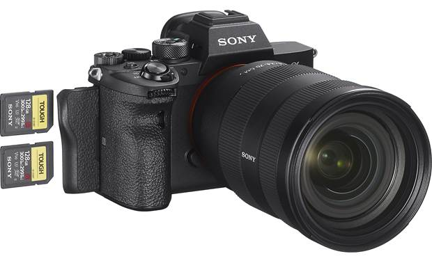 Sony Alpha a7R IV (no lens included) Dual SD card slots offer flexible options for recording and storage