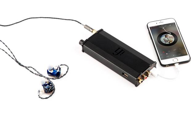 iFi Audio micro iDSD Black Label Versatile headphone amp for driving in-ear and over-ear headphones