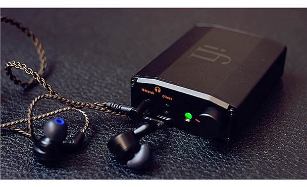 iFi Audio nano iDSD Black Label Two headphone outputs, one better matched to sensitive headphones like in-ear monitors