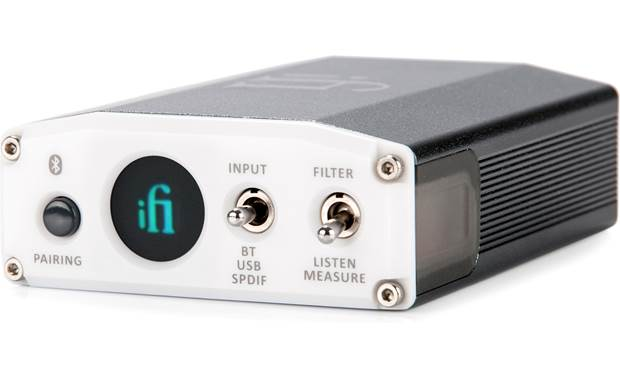 iFi Audio nano iOne Compact USB digital-to-analog converter (DAC) for home stereo setups