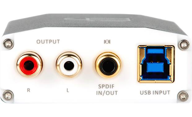 iFi Audio nano iOne Back-panel connections