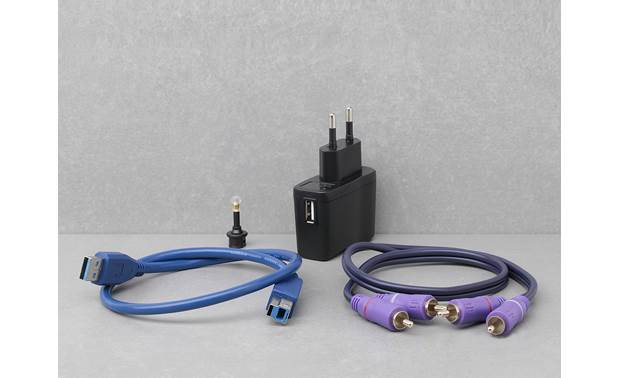 iFi Audio nano iOne Included cables and adapters