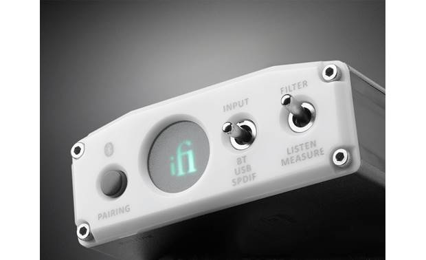iFi Audio nano iOne Front-panel controls