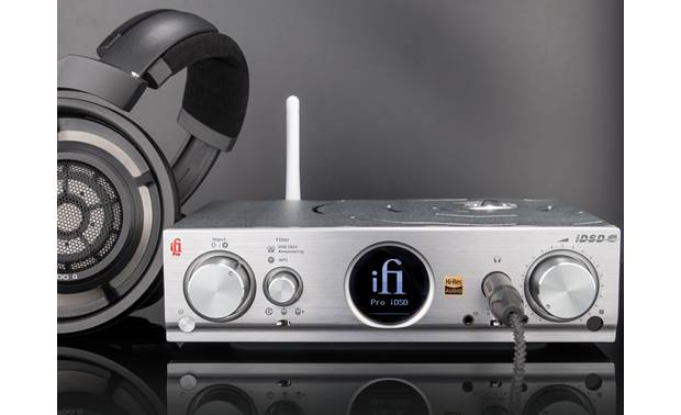 iFi Audio Pro iDSD It's a terrific headphone amp, too