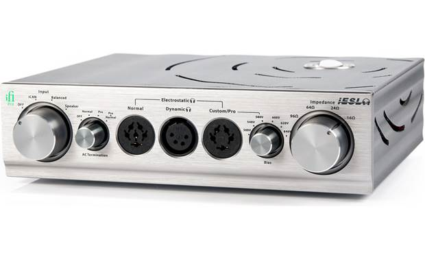 iFi Audio Pro iESL Special amplifier that can provide proper power to electrostatic headphones