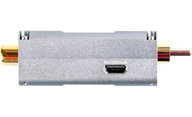 iFi Audio SPDIF iPurifier Side view showing Micro-B USB power port