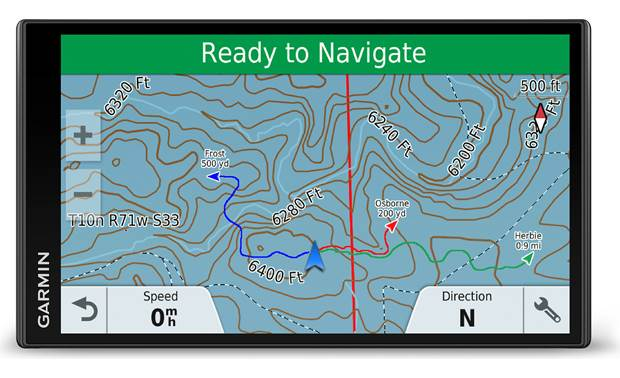 Garmin DriveTrack 71 Preloaded with TOPO U.S. and Southern Canada maps