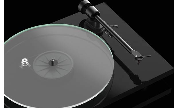 Pro-Ject T1 8mm zero-resonance glass platter (shown without felt mat)