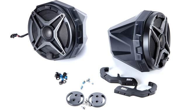 "SSV Works US2-C65A-CGN Polaris General speaker pods with 6-1/2"" speakers"
