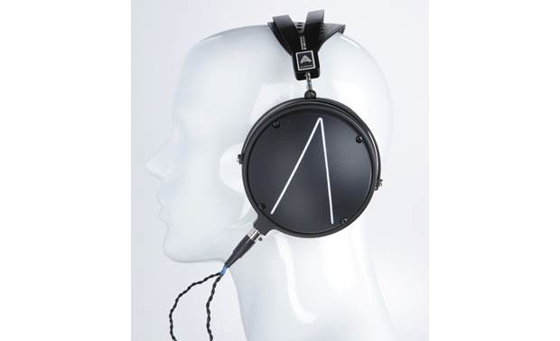 Audeze LCD-2 Closed-back Mannequin shown for fit and scale